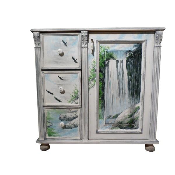 Kommode design büro  ART FUSION Designbüro: Wasserfall Malerei im provenzalischen Stil ...