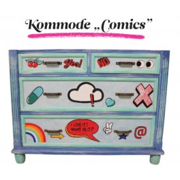 "Design Komód -  ""Kommode Comics """