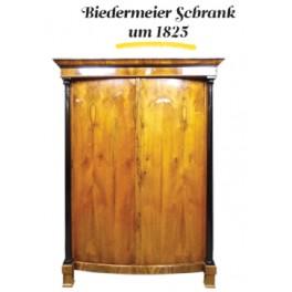 Biedermeier Schrank um 1825