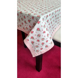 "Vintage table cover ""LOVELY ROSE"""